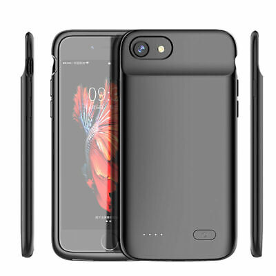 Battery External Power Slim Charger Case Charging For IPhone 6 7 8 Plus X 11 Pro • 17.49£
