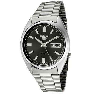 $ CDN133.01 • Buy Seiko 5 SNXS79 Automatic Black Dial Stainless Steel Mens Watch