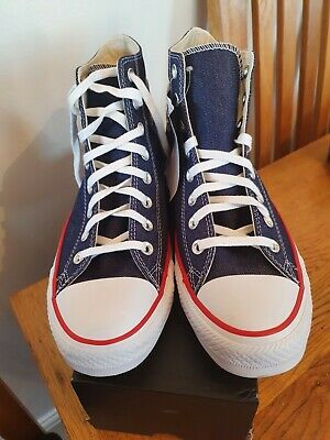 Brand New Converse With Hearts Size Adult Uk8.5 • 26.99£