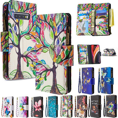 AU18.89 • Buy For Samsung S21 S20FE Note 20 Magnetic Flip Leather Wallet Stand Card Case Cover