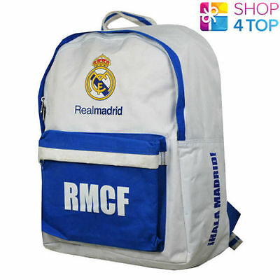 £26.96 • Buy Real Madrid FC Backpack Travel Bag Football Association Blue Official New