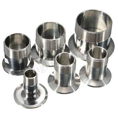 AU14.87 • Buy 1/2'' To 2'' Sanitary SS316 Male Threaded Ferrule Pipe Fitting Tri Clamp
