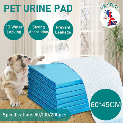 £20.99 • Buy Puppy Training Pads For Dog Pet Pee Absorbent Toilet Pee Wee Mat (200PCS Pack)