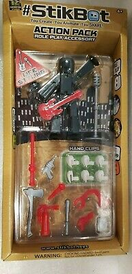 Stikbot Action Pack Role Play Accessory Life Styling Guitar Microphone Nib • 7.12£