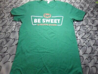$13.99 • Buy Medium  Be Sweet By Helping Others Krispy Kreme Volunteer T Shirt