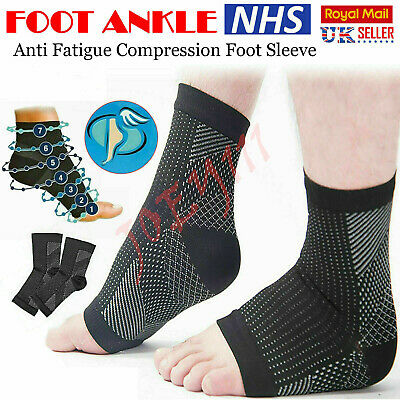 £3.10 • Buy 2 X Plantar Fasciitis Socks Compression Foot Arch Support Pain Ankle Relief Pair