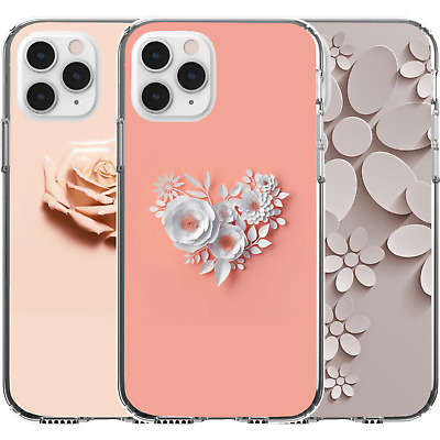 AU16.95 • Buy Silicone Cover Case Rose Flower Creative Floral Art Cute Colours