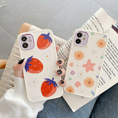 AU12.12 • Buy Cute Soft Phone Case For IPhone 12 Pro Max 12 Mini 11 XR XS X SE 8 7 Plus Flower