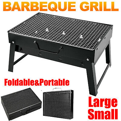 £20.75 • Buy Portable BBQ Barbecue Grill Fire Pit Camping Charcoal Patio Party Garden Outdoor