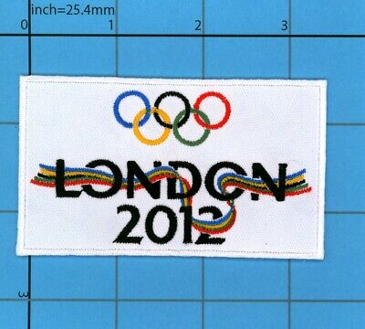£5 • Buy London 2012 Patch Flag Olympic Games Iron On QUALITY England Costume UK