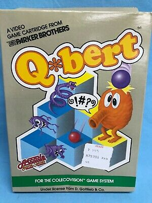 $ CDN31.72 • Buy Parker Brothers Qbert Colecovision Video Arcade Game 1983