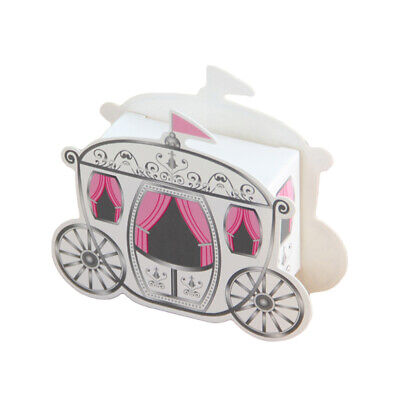 100pcs Candy Boxes Pumpkin Fairytale Carriage Party Wedding Candy Gift Holder • 22.91£