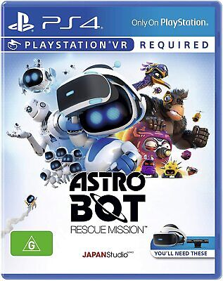 AU35 • Buy ASTRO BOT Astrobot Rescue Mission PS4 VR - NEW In Stock FREE FAST DELIVERY
