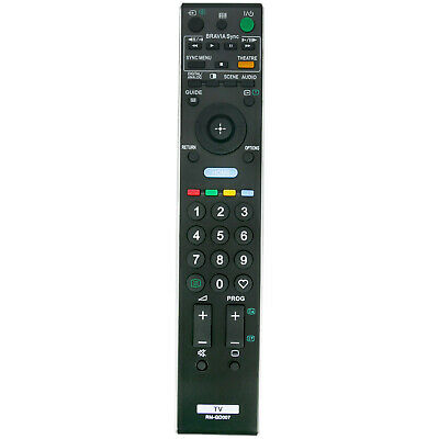 AU16.99 • Buy RM-GD007 Remote For Sony Bravia TV KDL-40WE5 KDL-46WE5 KDL-52V5500 KDL-46V5500