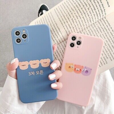 AU11.99 • Buy IPhone 12 Pro Max Mini 11 XS 7 8 Cute Silicone Shockproof Case Soft Rubber Cover