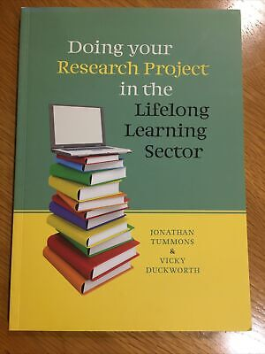 £9.99 • Buy Doing Your Research Project In The Lifelong Learning Sector, Tummons