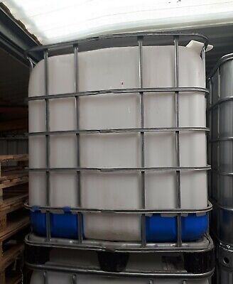 1000L IBC Water Tank/ Container. C/W Tap. • 60£