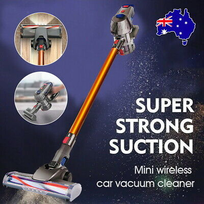 AU106 • Buy Handheld Vacuum Cleaner Anti Mite Cordless  Stick Handstick Recharge 2 Speed AU