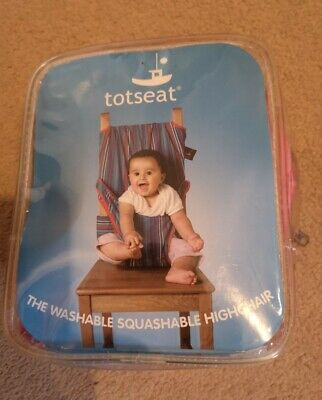 Tot Seat Travel High Chair Pink • 12.99£