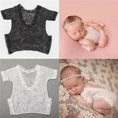 £3.17 • Buy Fashion Baby Clothes Jumpsuit Wild Lace Retro Safety Baby Photography Props FA