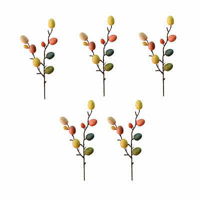 £7.90 • Buy 5 Branches Easter Egg Decorations Stylish DIY Easter Ornaments Adornments For Ho