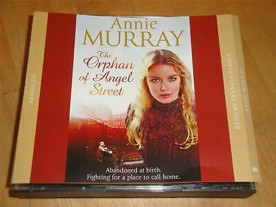 Annie Murray The Orphan Of Angel Street Read By Francis Barber 3 X CD Audiobook • 5.99£