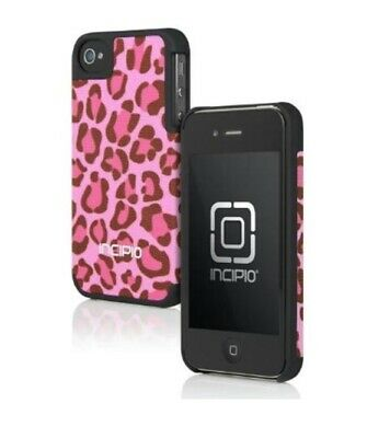 £6.92 • Buy Incipio IPH-714 Canvas Feather For IPhone 4/4S - Cheetah Pink - Retail Package