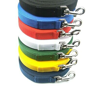 £3.85 • Buy Dog Training Lead 3FT - 100FT Long Strong Tracking Leash Recall Line Made In UK