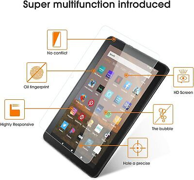 £3.99 • Buy Real HD Tempered Glass Screen Protector For AMAZON KINDLE FIRE HD 8 Plus 7 10