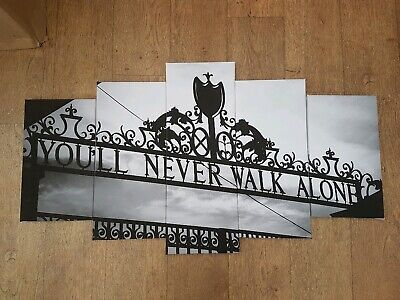 £39.99 • Buy Liverpool F.C. You'll  Never  Walk Alone Canvas Wall  Art  Print ON FRAMES