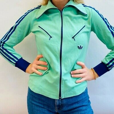 Very Rare Early 1970s Adidas Vintage Retro Track Top West Germany  • 200£