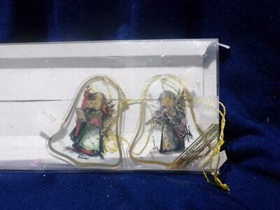 $2.79 • Buy Christmas- M.J. Hummel Bell Shaped Handcrafted Glass Ornaments-2     A-2