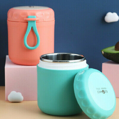 AU20.18 • Buy Portable Insulated Food Thermos Soup Container Stainless Vacuum Lunch Box Jar