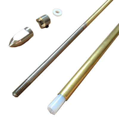 NEW 4mm Flex Shaft Cable Drive Dog Prop Nut & Brass Tube For Rc Boat 300/350mm • 16.39£