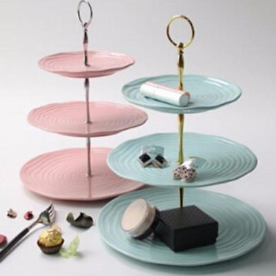 £3.12 • Buy 3 Tier Tool Cake Plate Stand Fruit Party Serving Fittings Food Cupcake Wedding F