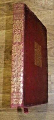 1901 Leather Bound The Vicar Of Wakefield By Oliver Goldsmith • 5.99£