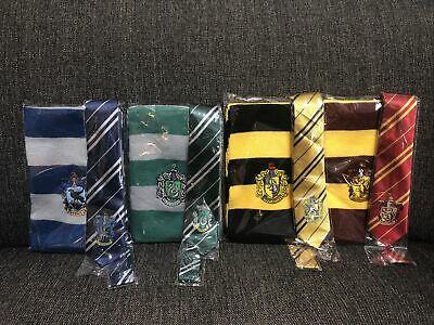 $ CDN17.65 • Buy Harry Potter Scarf Tie Set Costume Gryffindor Slytherin Hufflepuff Ravenclaw USA