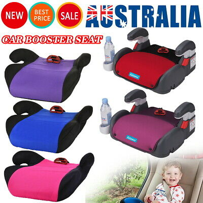 AU25.99 • Buy 4- 12 Years Car Booster Seat Chair Cushion Pad For Toddler Children Kids Sturdy