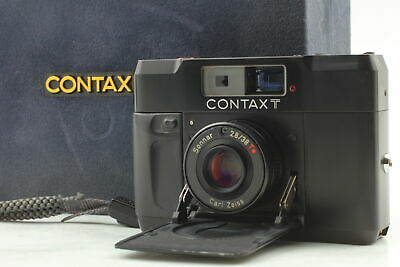 $ CDN812.36 • Buy [Near MINT In Box] Contax T BLACK Rangefinder Film Camera From JAPAN
