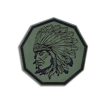 $6.99 • Buy Tactical Combat Morale Bag Patch Badge PVC Hook And Loop By BASTION - Chief ODG