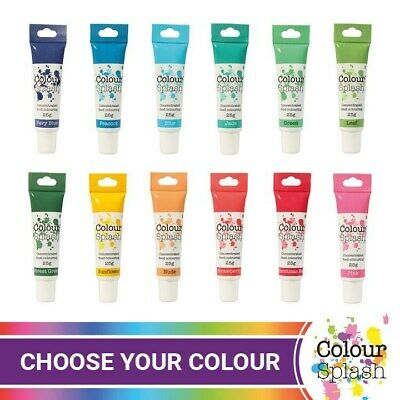 Colour Splash Concentrated Food Colouring Gels 25g  • 3.10£