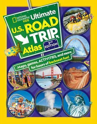 National Geographic Kids Ultimate U. S. Road Trip Atlas, 2nd Edition • 4.88£