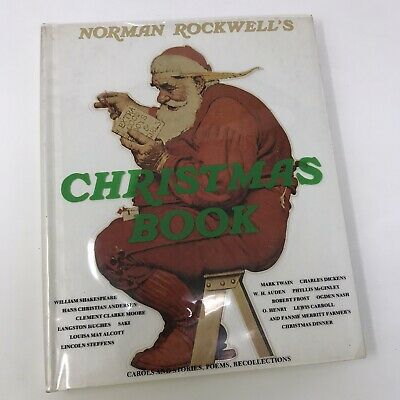 $ CDN23.92 • Buy Norman Rockwell's Christmas Book - 1977 Vintage Hardcover HC Plastic Dust Cover