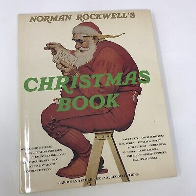 $ CDN27.30 • Buy Norman Rockwell's Christmas Book - 1977 Vintage Hardcover HC W/ Dust Cover