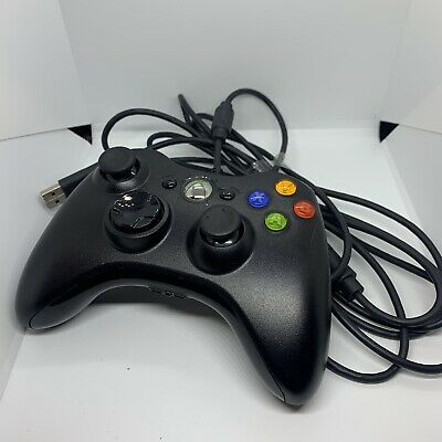 AU49 • Buy Microsoft Xbox 360 Wired Controller - Black