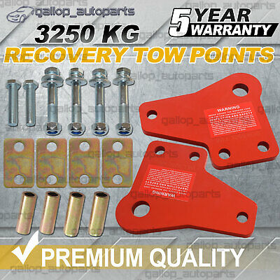 AU85 • Buy Recovery Tow Points For Toyota Hilux Sr5 N70 Kun26 2005-2015 3250kg Heavy Duty