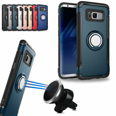 AU10.88 • Buy Magnetic Ring Holder Case For Samsung Galaxy Note 20 5G S20 S9 S8 360 Full Cover
