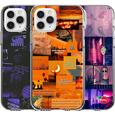 AU16.95 • Buy Silicone Cover Case Collage Queen No Bad Vibes Lights Blue Unicorn Milk Girl Art