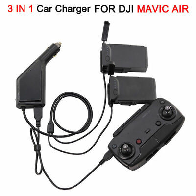 AU32.75 • Buy 3-In-1 Car Charger Multi Battery Fast Intelligent Charger For DJI Mavic Air NEW