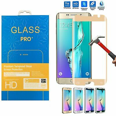 $ CDN3.74 • Buy Full Coverage  Tempered Glass Curved Screen Protector For Samsung Galaxy S7 Edge